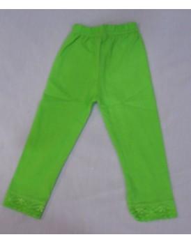 Yeşil  Kız Çocuk Tayt