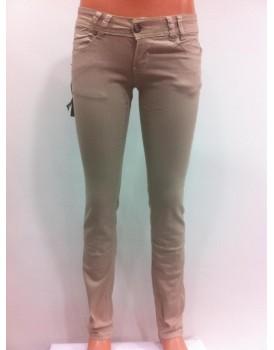 Taş Rengi Kadın Kot Pantolon
