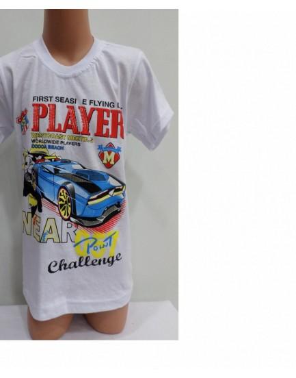 Baskılı Erkek Çocuk T-Shirt