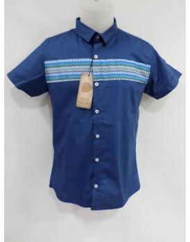 Koyu Mavi Erkek Gömlek
