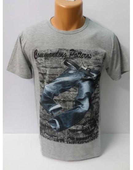 Baskılı Erkek T-Shirt